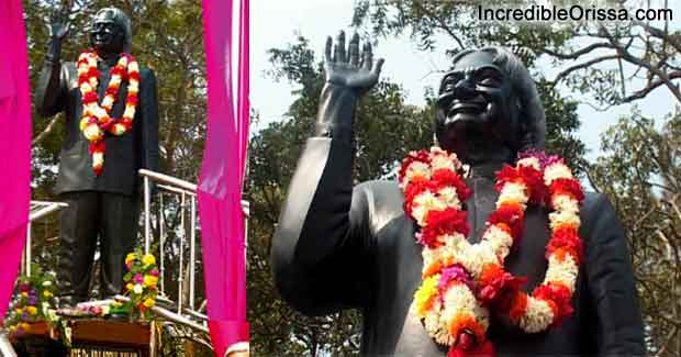 Statue of Kalam at Chandipur