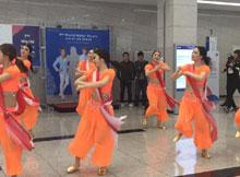 Korean girls Rangabati song dance