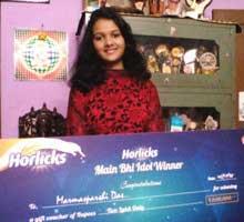 Marmasparshi Das Horlicks Main Bhi Idol 2015