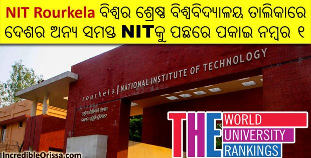 NIT Rourkela World University Rankings