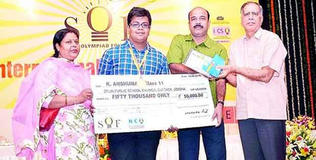 National Cyber Olympiad winner from Odisha