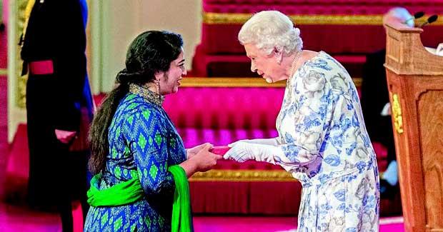 Neha Swain wins Queen's Young Leaders award