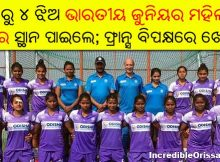 Odia players in Indian Junior Women's Hockey Team