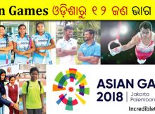 Odisha sportspersons in Asian Games 2018