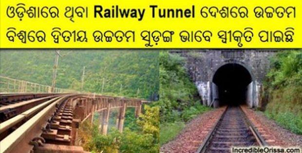 Odisha Maliguda Tunnel