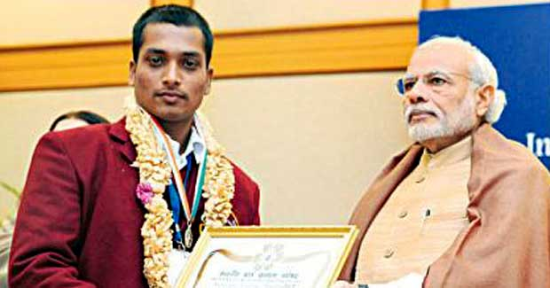Odisha boy Abinash Mishra National Bravery Award