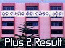 Odisha Plus 2 Result