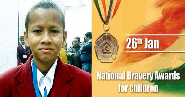 Odisha boy Mohan Sethy National Bravery Award
