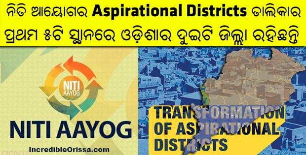 Odisha districts Niti Aayog