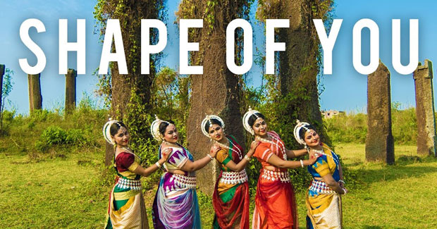 Odissi dance Ed Sheeran Shape of You