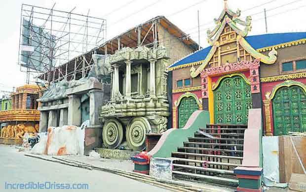 Old Station Bazaar Durga Puja