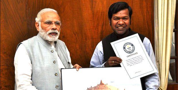 PM Modi congratulates Sudarsan Pattnaik