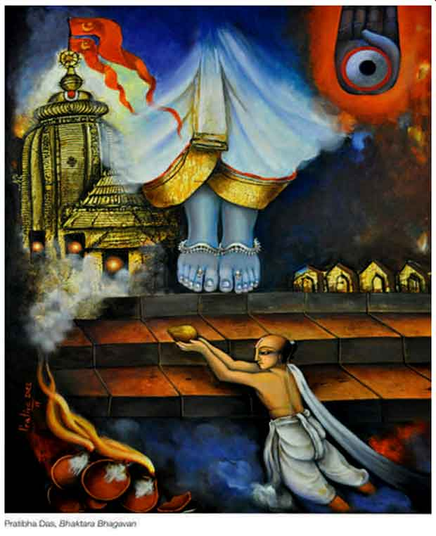 Painting Jagannath