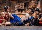 Prakruti Mishra and Jhilik with Saswat Joshi dance photo