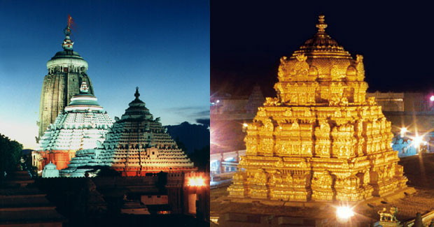 Puri Jagannath temple follow Tirupati temple