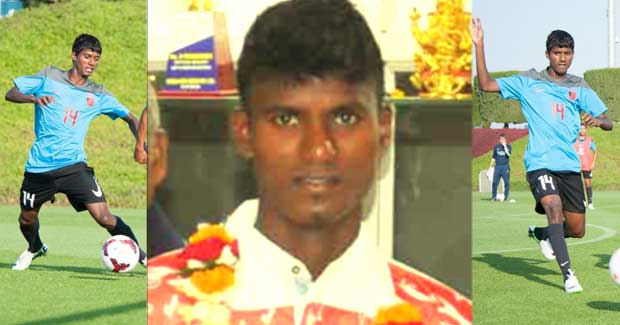 Rakesh Oram football player from Odisha