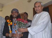 Rituraj Mohanty with CM Naveen Patnaik