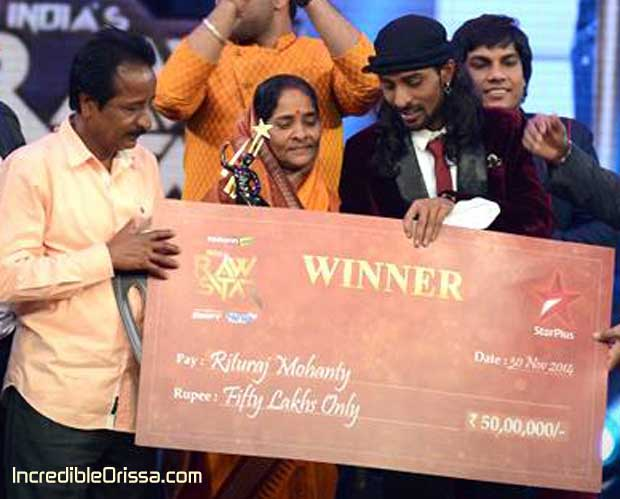 Rituraj Mohanty Raw Star Winner