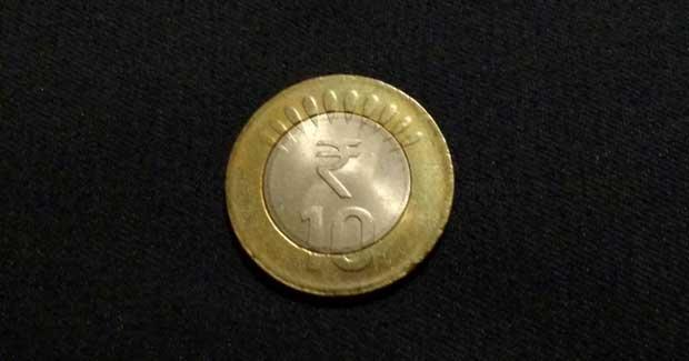 Rs 10 coin original
