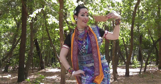 Russian dancer Dalkhai
