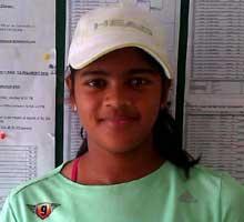 Rutuparna Choudhury Tennis player from Odisha