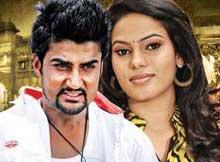 Sambit Acharya and Priyanshi Subudhi in Odia Film Ganja Ladhei
