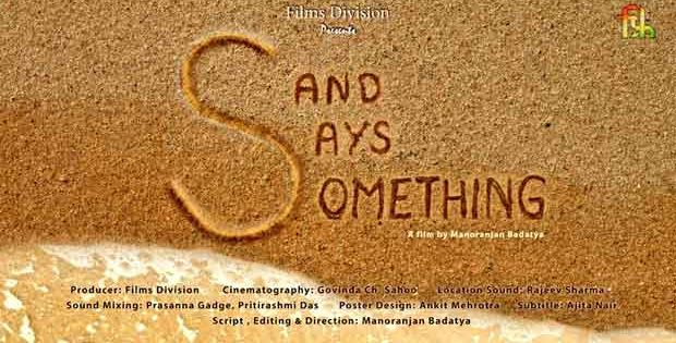 Sand Says Something film on Sudarsan Pattnaik
