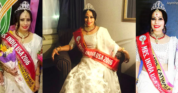 Sarita Pattnaik Mrs India USA 2016