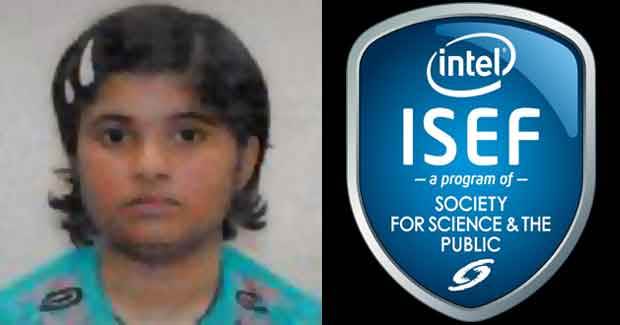 Odisha girl Saswati Rath at Intel International Science and Engineering Fair