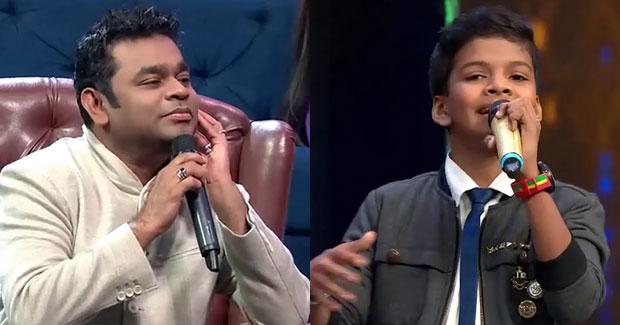 Satyajeet Jena with AR Rahman