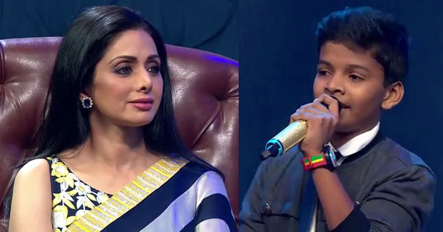 Satyajeet Jena with Sridevi