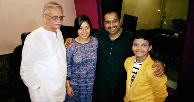Satyajeet Jena with Sunidhi Chauhan
