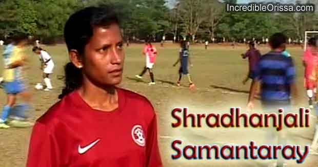 Shradhanjali Samantaray footballer