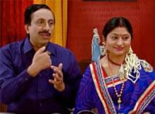 Sitaram Agrawal wife Namita Agarwal