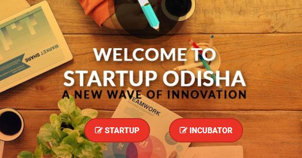 Startup Odisha web portal