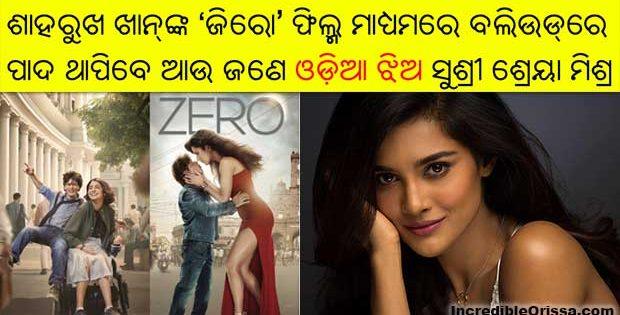 Sushrii Shreya Mishraa Zero film