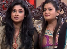 Actress Sweety and Amrita Shukla