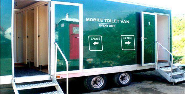 Toilets on Wheels