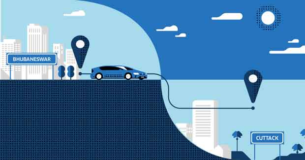 Uber Bhubaneswar to Cuttack