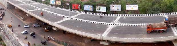 Vani Vihar flyover Bhubaneswar