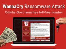 WannaCry Odisha toll-free number