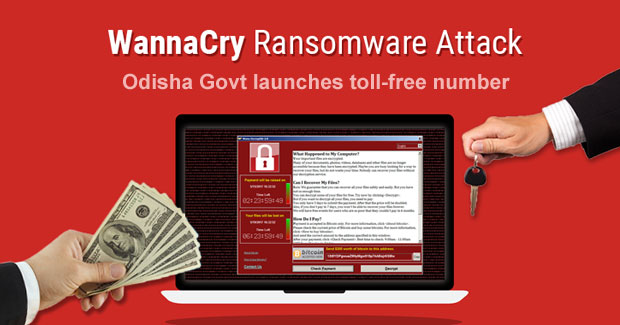 WannaCry Odisha toll-free number