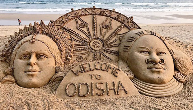 Welcome to Odisha sand art