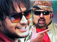 Amlan and Sudhakar Vasanth in OMM