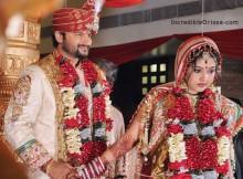 Anubhav and Barsha's saat phere
