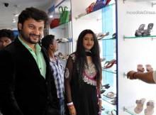 Anubhav Mohanty and wife Barsha Priyadarshini Mohanty