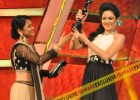 Archita with Filmfare (Oriya) Award