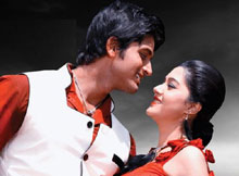 Arindam and Barsha Priyadarshini in Parshuram