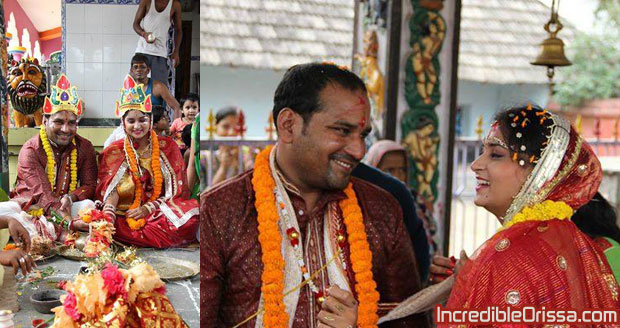 Odia actress Babli marriage photo