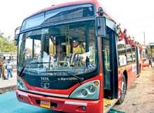 Bhubaneswar AC city bus